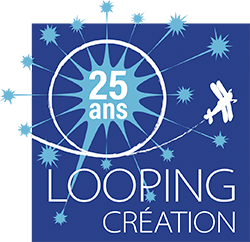 Looping Création logo des 25 ans
